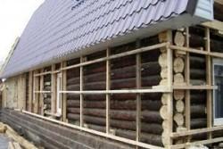 Крепление утеплителя к деревянной стене: выбор материалов и правила работы с ними