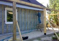 Варианты утепление деревянного дома снаружи