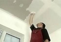 Шпаклевка потолков и стен помещения своими руками