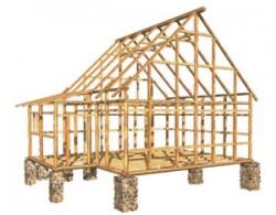 Выбор фундамента для строительсва каркасного дома